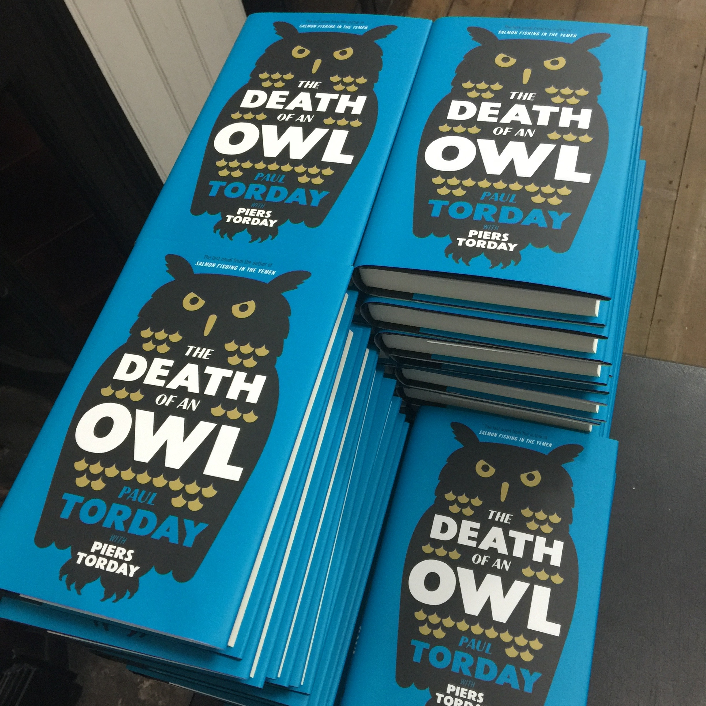The Death of an Owl by Paul and Piers Torday hardback