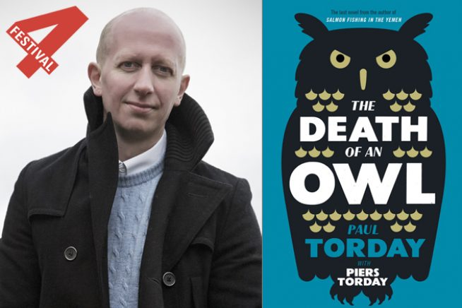 Piers Torday by James Betts Death of an Owl by Paul Torday